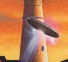The Aliens in Maine make the Spacemen Insane Sticker