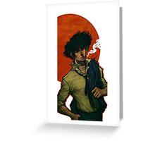 Cowboy Bebop - Spike Spiegel Greeting Card