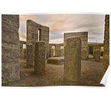 Stonehenge Revisited Poster