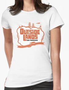 Outside Lands World Womens Fitted T-Shirt