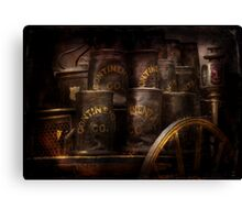 Fireman - Bucket Brigade  Canvas Print