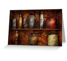 Fireman - Fire Control Greeting Card