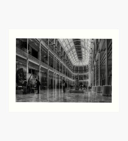 Edinburgh Museum Art Print