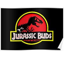 Jurassic Buds (red) Poster
