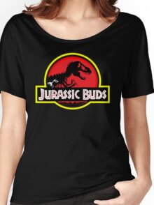 Jurassic Buds (red) Women's Relaxed Fit T-Shirt