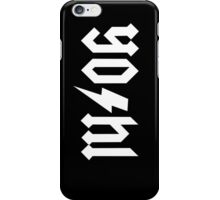 YO/HI (a) iPhone Case/Skin