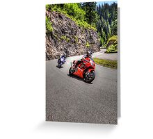 Honda VTR Greeting Card