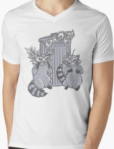 Fancy Racoon masks  Mens V-Neck T-Shirt