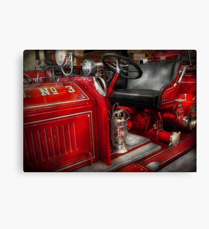 Fireman - Fire Engine No 3 Canvas Print