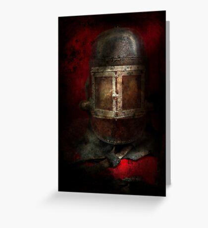 Fireman - The Mask Greeting Card