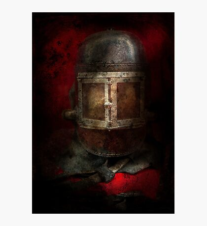 Fireman - The Mask Photographic Print