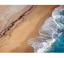 Lick the sand Photographic Print