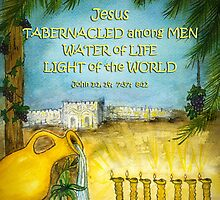 Jesus in The Feast of Tabernacles by Janis Lee Colon