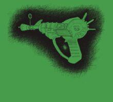 Sketchy Ray gun Baby Tee