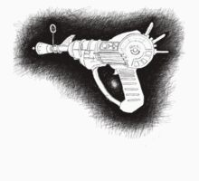 Sketchy Ray gun by aaronnaps