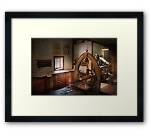 Graphic Artist - Graphic Workshop  Framed Print