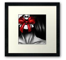 The Gift - Red Framed Print