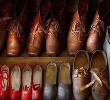 Shoemaker - Shoes worn in life by Mike  Savad