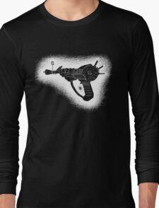 Sketchy Ray gun white version Long Sleeve T-Shirt