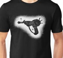 Sketchy Ray gun white version Unisex T-Shirt