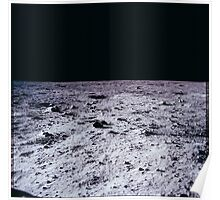 Apollo Archive 0024 Moon Lunar Surface Poster