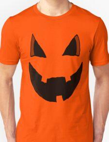 Evil Pumpkin Face  T-Shirt