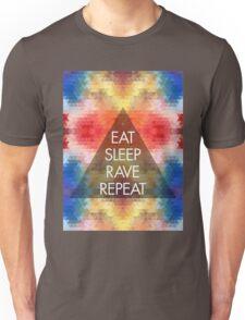 Eat, sleep, rave, repeat ravers  T-Shirt