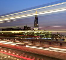 The shard London at night by chris2766