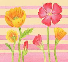 Happy Flower Bed by Irina Sztukowski