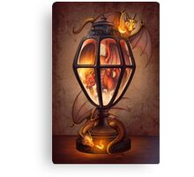 The Dragon Lantern Canvas Print