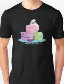 Cute Kitty Cat Macarons Unisex T-Shirt