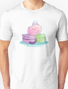 Cute Kitty Cat Macarons T-Shirt