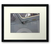 Lockdown Mode: $5 Accessory For A Multi-Million Jet Fighter Framed Print