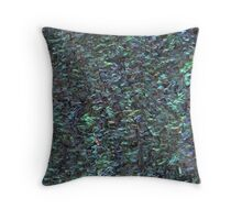 Abalone Shell / Paua Shell Throw Pillow