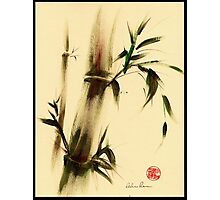 """Calm""  Sumi e bamboo painting Photographic Print"