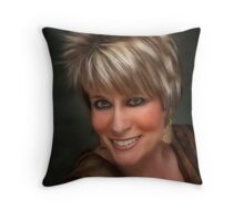 Beautifully Blond Throw Pillow