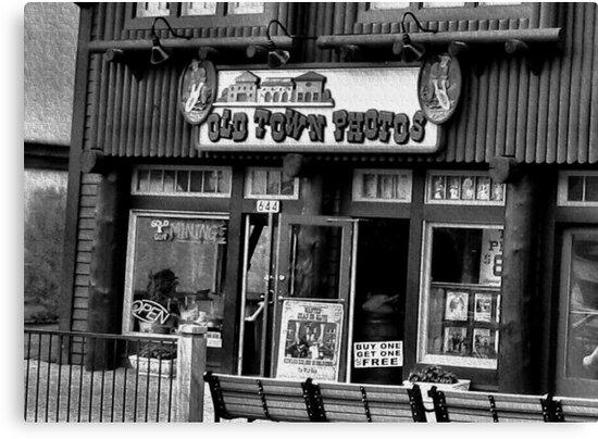 Gatlinburg, Tennessee Series, #5... The Old Timey Photo Shop, 4th Picture  by © Bob Hall