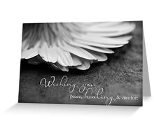 Peace, Healing & Comfort Greeting Card