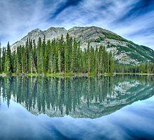 Mud Lake Reflection by Justin Atkins