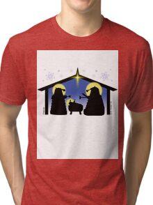 Skaro Nativity Tri-blend T-Shirt