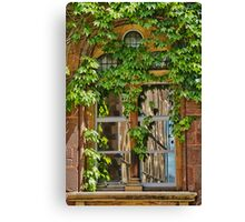 Window Reflections ~ Exeter Canvas Print
