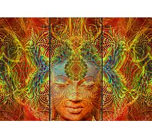 Buddha Tryptich Photographic Print