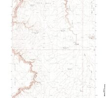 USGS Topo Map Oregon Rawhide Pocket 281233 1982 24000 by wetdryvac