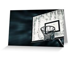 Street Basket Greeting Card