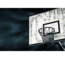 Street Basket Photographic Print
