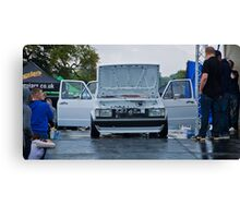 MK1 Jetta On Stage Canvas Print