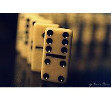 domino Photographic Print