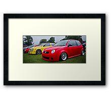 Lupo GTI On Air Framed Print