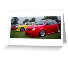 Lupo GTI On Air Greeting Card