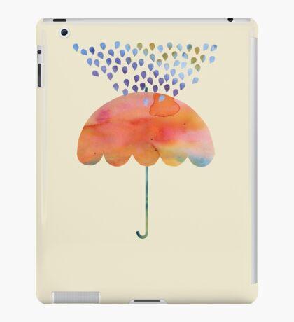 Rainbow Umbrella iPad Case/Skin